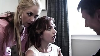 Parents force daughter to suck dick
