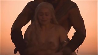 Emilia Clarke all sex vignettes in Game of Thrones - watch full at celebpornvideo.com